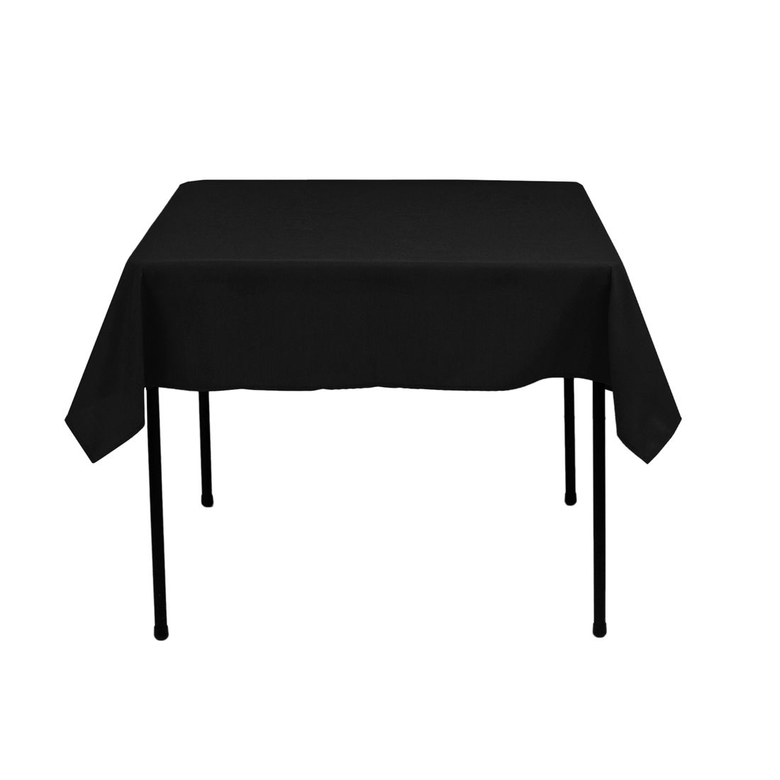52 In. Square Spun Polyester Tablecloth Factory