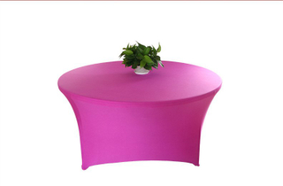 wholesale round spandex table cover