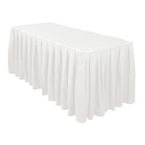 Polyester Shirred Table Skirting