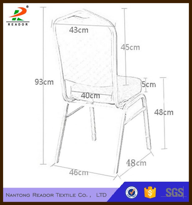 White universal spandex wedding banquet chair covers supplier