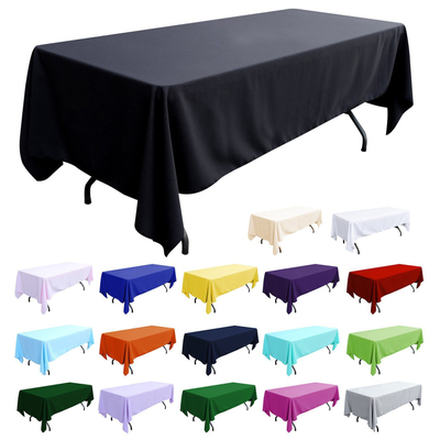 Rectangle 180gsm Polyester Tablecloth