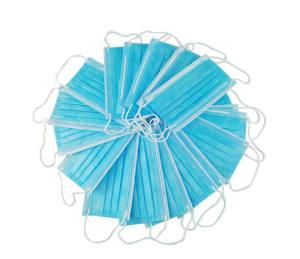 Ship within 3 Day Wholesale 3-Ply Non-woven Disposable Face Mask for Health Blue Anti-Virus Mask
