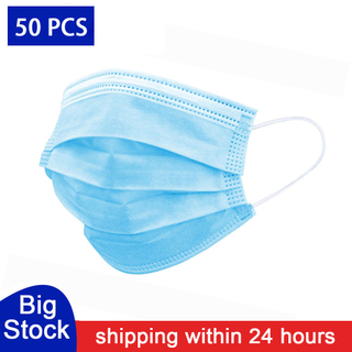 Anti-Pollution Disposable Protective Face Mask 3 Layer Non Woven Mouth Masks Dustproof Earloop For Protection Masks