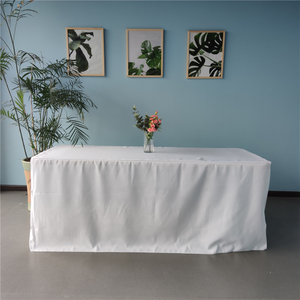 6ft rectangular polyester wedding tablecloths