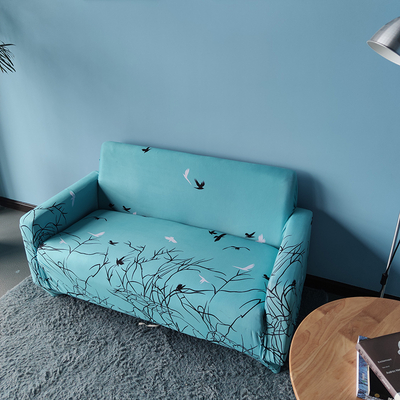 wholesale waterproof stretch printed sofa cover spandex washable couch covers for living room