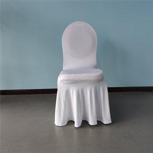 spandex ruffle chair covers with skirt