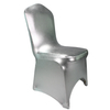 Wholesale Cheap Silver Spandex Chair Covers For Wedding