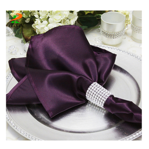wholesales cheap satin napkin wedding, satin napkin in table napkin, satin band napkins