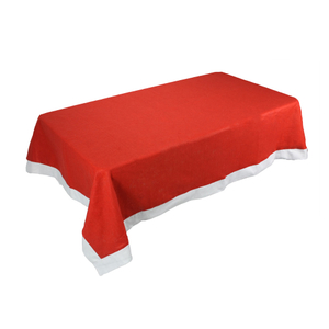 factory rectangle red christmas table cloth tablecloths for party home