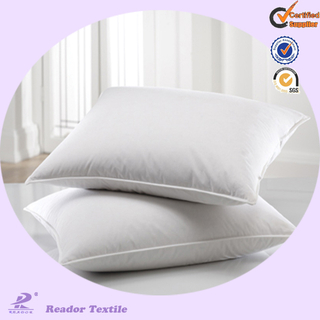 hot selling washable white cotton hotel bed pillow case with Logo
